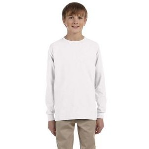 Gildan Long Sleeve Youth T-Shirt - White